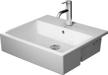 Vero air wastafel meubelwastafel 235080 duravit - Wastafel console ...