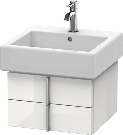 Vero wastafel meubelwastafel 045450 duravit - Wastafel console ...