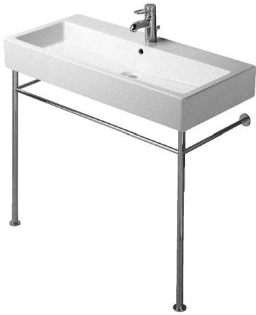 Duravit vero wastafels metalen console 003067 van duravit - Wastafel console ...