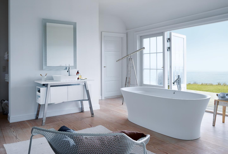 duravit cape cod elegante wasplaatsen en wastafels duravit. Black Bedroom Furniture Sets. Home Design Ideas