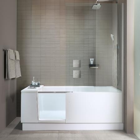 Shower & Bath: douchebaden en combibaden voor kleine badkamers ...