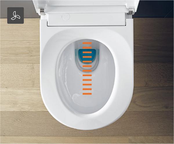 Peachy Duravit Sensowash Starck F Shower Toilets That Inspire Pabps2019 Chair Design Images Pabps2019Com